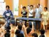 本郷小学校で昔語りの朗読会 文京のボランティア団体が総合学習の一環で